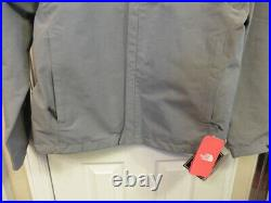 $199 NWT THE NORTH FACE Men's GORE-TEX Waterproof Jacket Gray with Hood SIZE M