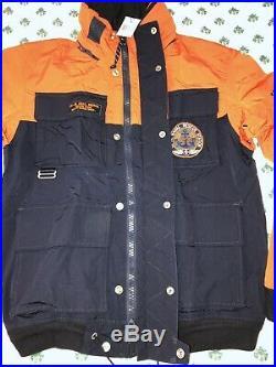 $395 Polo Ralph Lauren Windbreaker Coastal Naval Patrol Rescue rrl Jacket L
