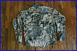 52 SITKA GEAR Mountain Jacket Optifade Country Gore-Tex Infinium Windstopper MD