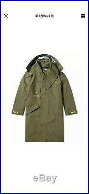 $650 Nike Nikelab ACG Gore-Tex Hooded Coat Olive Green AQ3516-395 Size M