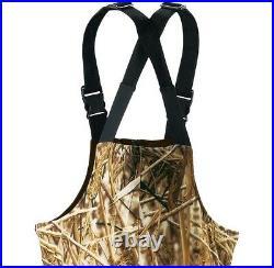 A. G. O. Men's Waterfowl Insulated Bibs WARM NEW Retail $149.99 Duck Hunting Bird