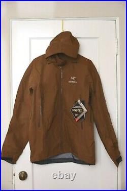 ARC'TERYX Beta AR Goretex Jacket Caribou Brown MSRP $575 size Large NWT