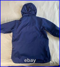 Arc'teryx Alpha SV Jacket Men's Large Admiral Blue Made in Canada