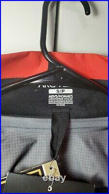 Arc'teryx Beta AR Jacket Men's Gore-Tex Pro SMALL Ember NEW