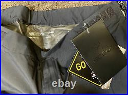 Arc'teryx Beta SL Gore Tex Rain Pants Men's Medium Black 23145 New With Tags