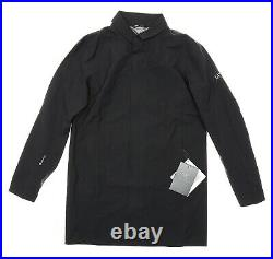 Arc'teryx Keppel Black Trench Coat Men's Size Large 85731