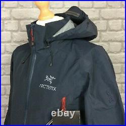 Arc'teryx Mens Uk S Beta Ar Admiral Blue Gore-tex Hooded Ski Jacket Rrp £430 Kl