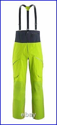Arc'teryx Rush LT Bib Pant Men's in Medium Color Utopia Snowboarding BRAND NEW