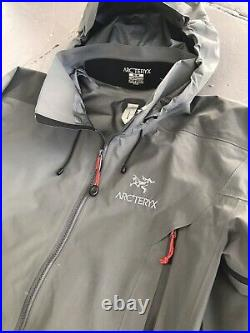 Arcteryx Beta AR shell Jacket Rare Color Grey/Red Size M Gore Tex Pro