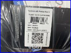 Arcteryx Mens Firebee AR GORE THERMIUM 850 Fill Down 24K Black Men's Medium (M)