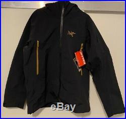 Arcteryx SABRE AR Gore-Tex Jacket Mens Medium 24k black NEW w Tags 2020 LE beta