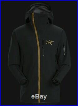 Arcteryx Sidewinder GORETEX Jacket Mens Size Large 24K Black BRAND NEW W TAGS