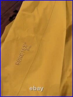 Arcteryx Ski Guide Jacket Mens Medium Viper Yellow Gore-tex Pro Alpha SV