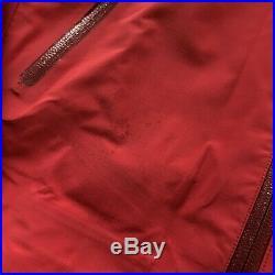 Arcteryx Vintage Theta AR Gore-Tex XCR Shell Jacket Red Small/Medium