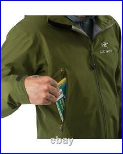 Arcteryx Zeta LT Jacket Gore Tex / Bushwack Green / SMALL /BNWT RRP £350