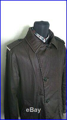 Authentic Stone Island Trench Coat Jacket Size L