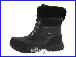 Authentic UGG Men Snow Boots Butte Waterproof Windproof eVent Leather Black 5521