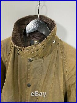 BARBOUR CLASSIC SOLWAY WAX Jacket Large Brown Great Condition Mens
