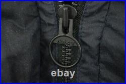 BARBOUR ENGINEERED GARMENTS Navy Wax Zip Parka Size Small/Medium Coat Mr Porter
