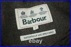 BARBOUR Gamefair Tweed Leather Coat £379 Size Large 40/42 50 Mr Porter Schoffel
