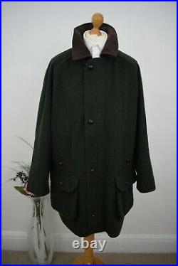 BARBOUR Green Loden Hunting Coat Size 44/46 XL/XXL Shooting Jacket Mr Porter