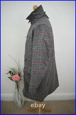 BARBOUR Sample 1 of 1 Tweed Coat Size Large/XL 40/42 Mr Porter Schoffel Hackett