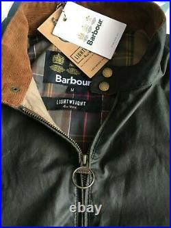 Barbour Royston Olive Medium Waxed Jacket International Motorcycle Biker Cafe