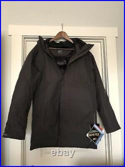 Brand New Arcteryx Therme Down Parka Men's Large Whisky Jack Color 750 Fill