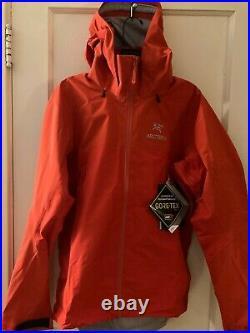 Brand new Arc'teryx Beta AR Gore-Tex Pro Jacket Dynasty (red) Size large 25854