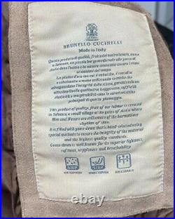 Brunello Cucinelli suede Jacket size 56 / XXL / US 44 (100% Authentic&New)