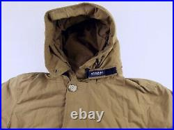 C518 WOOLRICH Arctic Parka down & feathers padded jacket size L, great condition