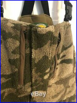 Cabela's Berber Extreme Thinsulate Windshear Bibs Outfitter Camo Large