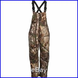 Cabela's Men's Insulated Breathable Waterproof Hunting Bibs Realtree 125 AP Camo