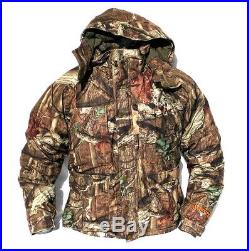 Cabela's Men's SCENT-LOK Silent-Suede Dry-Plus Mossy Oak Infinity Hunting Parka