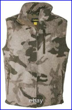 Cabela's Men's Wooltimate Windshear Waterproof Outfitter Camo Hunting Vest