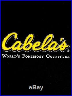 Cabela's Mens Outfitter's Micro Berber 1/4 Zip WindShear Pullover Hunting Jacket