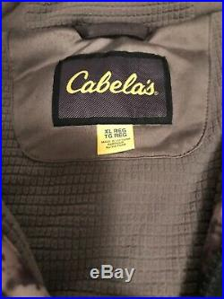 Cabelas MT050 Whitetail Extreme Gore-Tex Insulated Parka O2 Octane XL