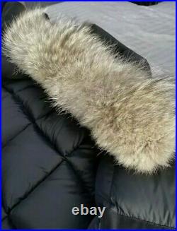 Canada Goose Expedition Men Down Parka Fur Arctic Winter Coat Black BNWT UK