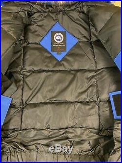 Canada Goose Men's PBI Expedition Parka Style PBI Blue Size Large