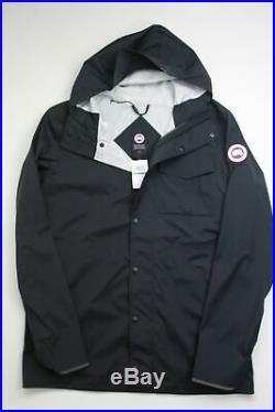 Canada Goose Nanaimo Windproof Waterproof Jacket Large Black