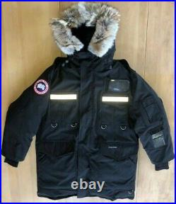 Canada Goose Resolute Parka Black Mens Size M TEI^5 625 Fill Power White Duck
