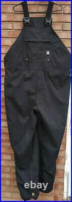 Carhartt Shoreline Overalls 3XL waterproof breathable bib mens black 100735 001