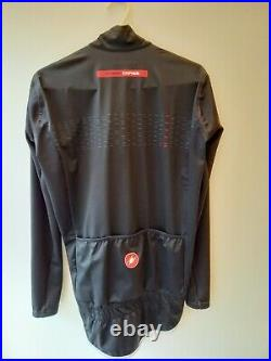 Castelli PRO FIT LIGHT RAIN Waterproof Cycling Jacket medium light black BNWT