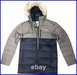 Columbia Men's Northridge Lodge 700Fill Down Hooded Omni Heat Winter Puffer Jack