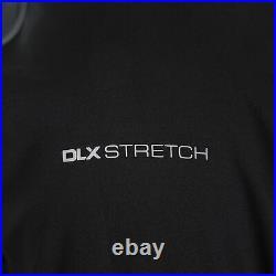 DLX Mens Waterproof Jacket with Hood Taped Seams XXS -XXXL Thomson