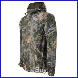 Ex Mossy Oak Big Tall Unisex Wind Proof Jacket Hunting, Fishing Work Outdoor