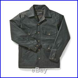 FILSON Lined Seattle Cruiser Jacket Waxed Cotton Canvas Coat M/XL MSRP $495