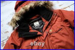 FJALLRAVEN Yupik Parka Autumn Leaf Winter Jacket 80665 s. M Football Casuals