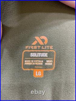 First Lite Solitude Insulated Bibs Large