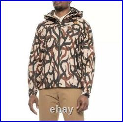 First Lite Vapor StormLight Packable Rainwear Jacket Waterproof ASAT Camo Medium